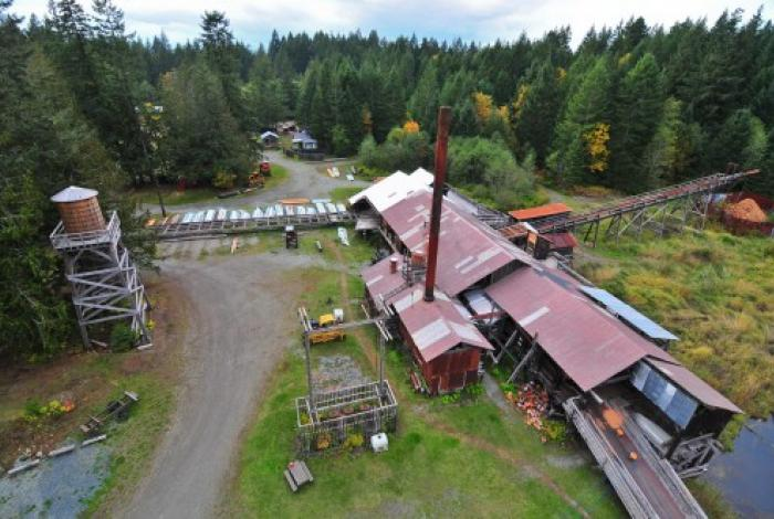 Alberni Valley Steam Train And Mclean Mill National